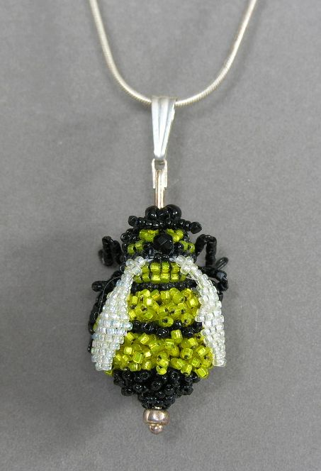 Bumblebee on a chain