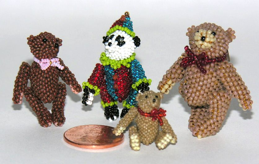 Micro Miniature Bears Group