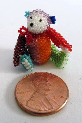 Micro Multicolored Bear 1